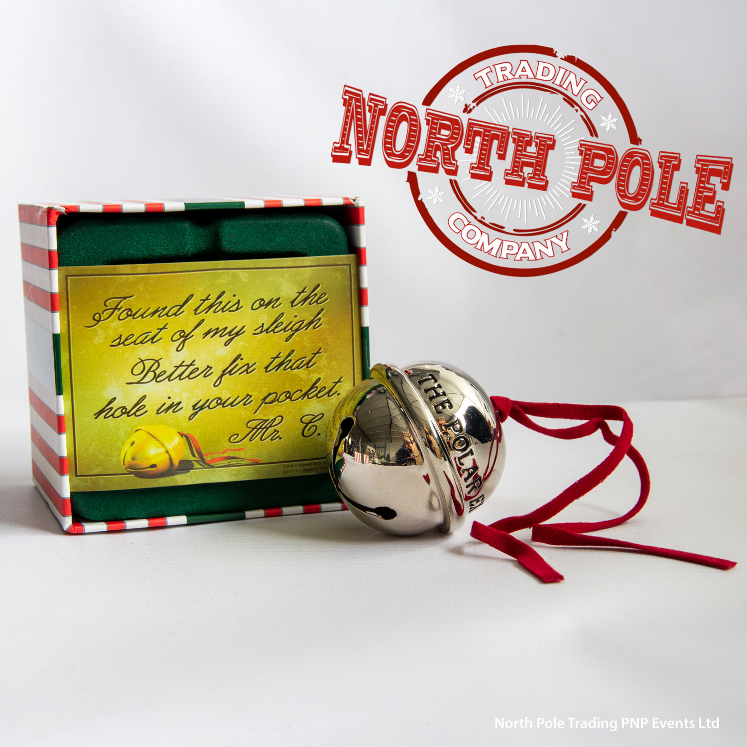 THE POLAR EXPRESS™ Deluxe Gift Bell in Gift Box