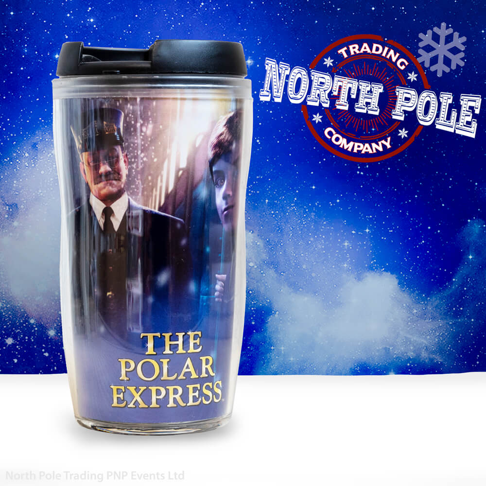 THE POLAR EXPRESS™ Tumbler 8 oz with Conductor and Boy