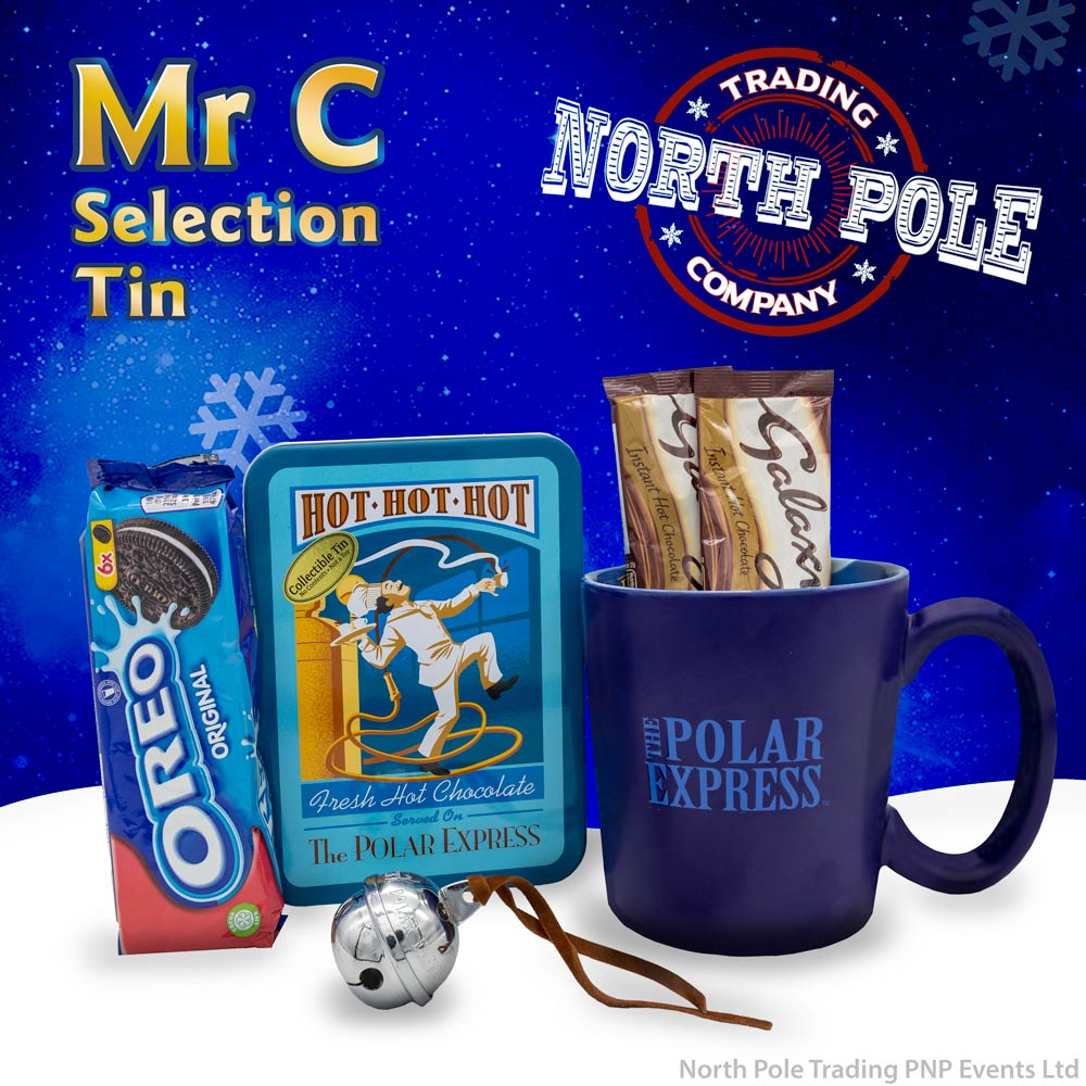 Selection Tin Mr.C - With Free Gift Of THE POLAR EXPRESS™ Silver Sleigh Bell