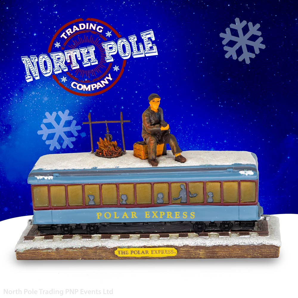 THE POLAR EXPRESS™ Hobo on Carriage Ornament