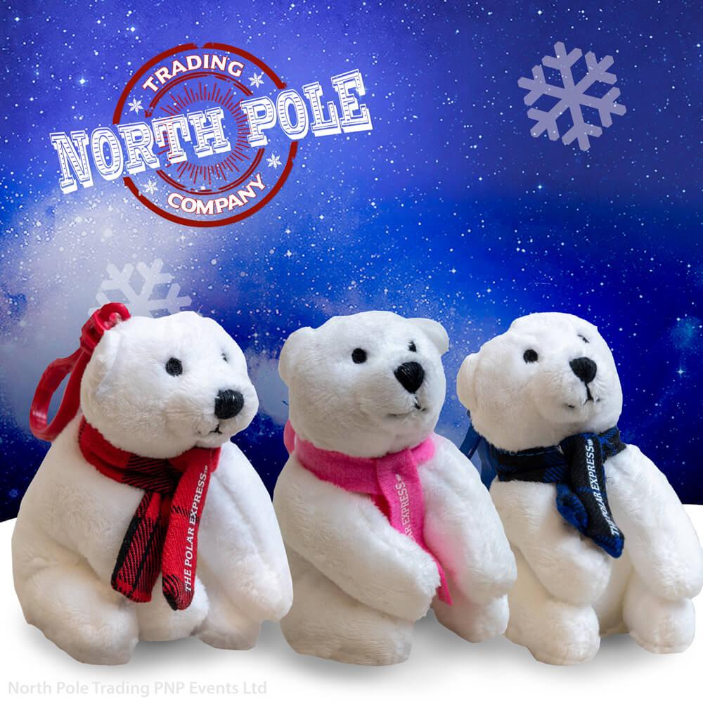 THE POLAR EXPRESS™ Polar Bear Backpack clip