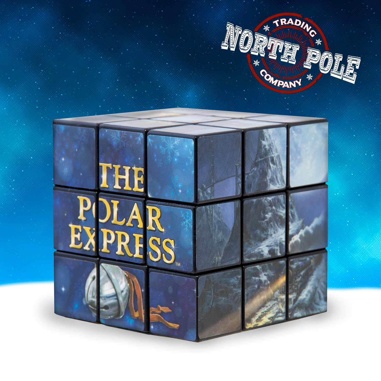 THE POLAR EXPRESS™ Picture Puzzle Cube