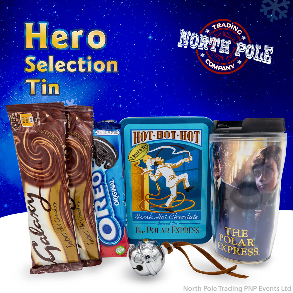 Selection Tin Hero - With Free Gift Of THE POLAR EXPRESS™ Silver Sleigh Bell