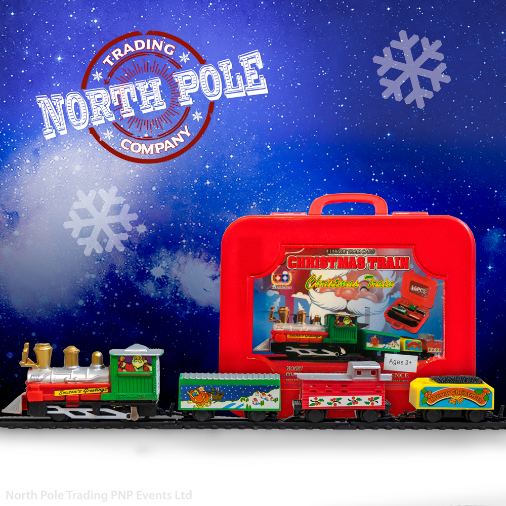 Christmas Train in a case