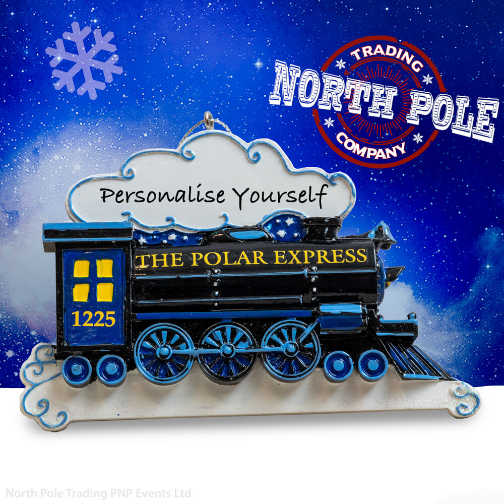 THE POLAR EXPRESS™ Personalised Train Ornament