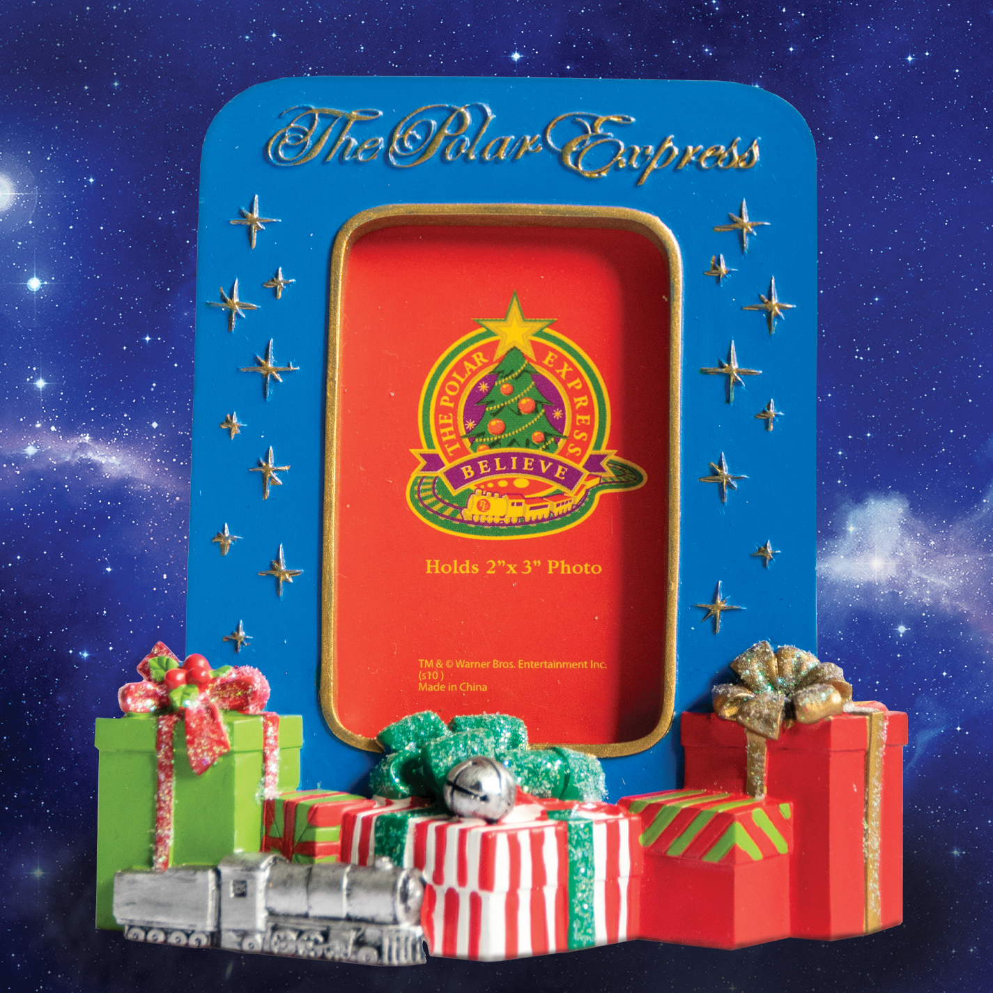 THE POLAR EXPRESS™ Resin Frame with Presents