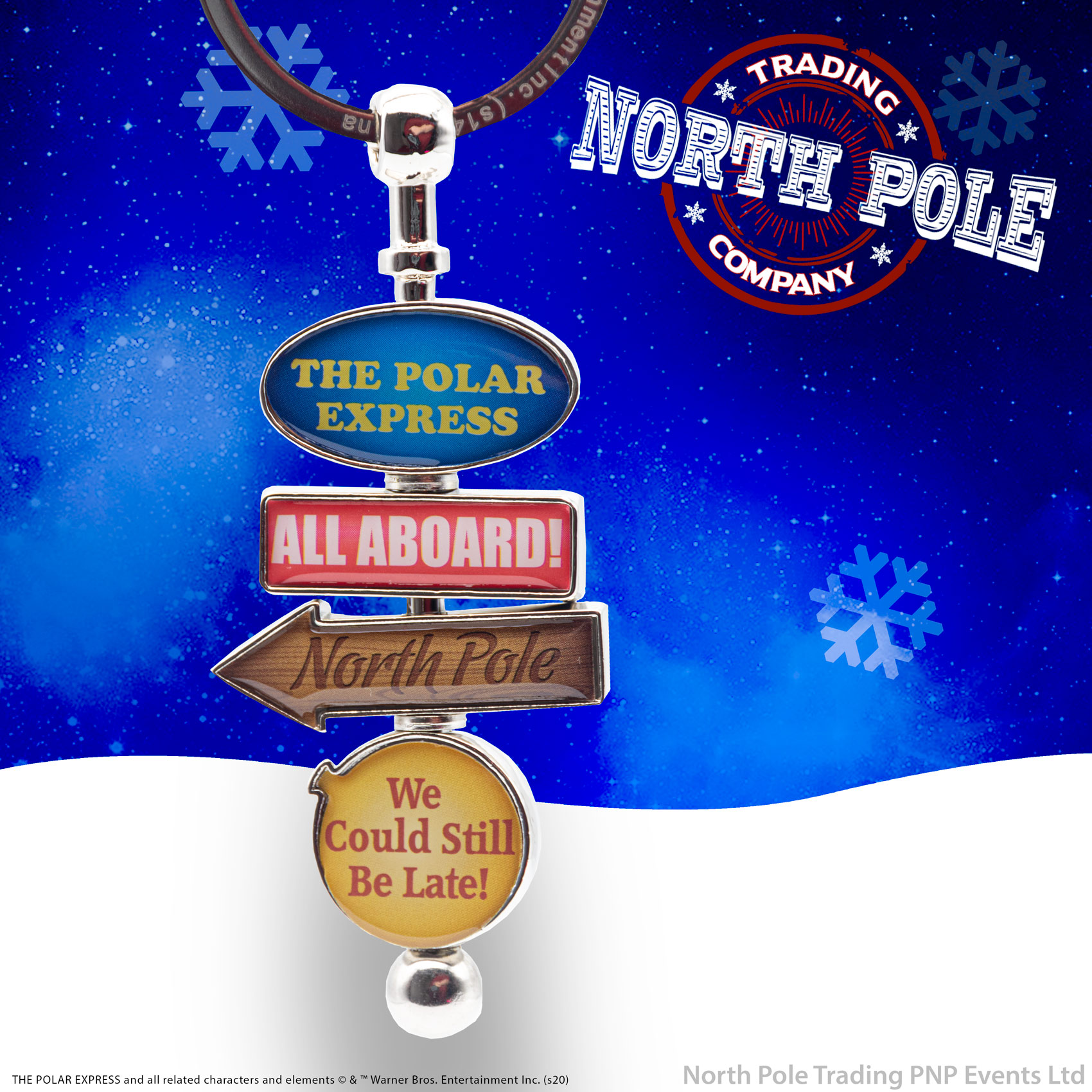 THE POLAR EXPRESS™ Spinning Keychain