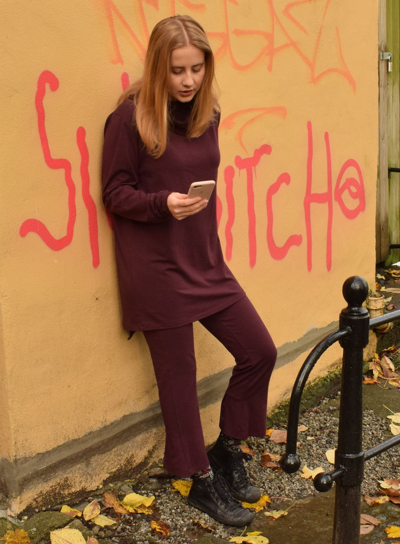 Flare tights