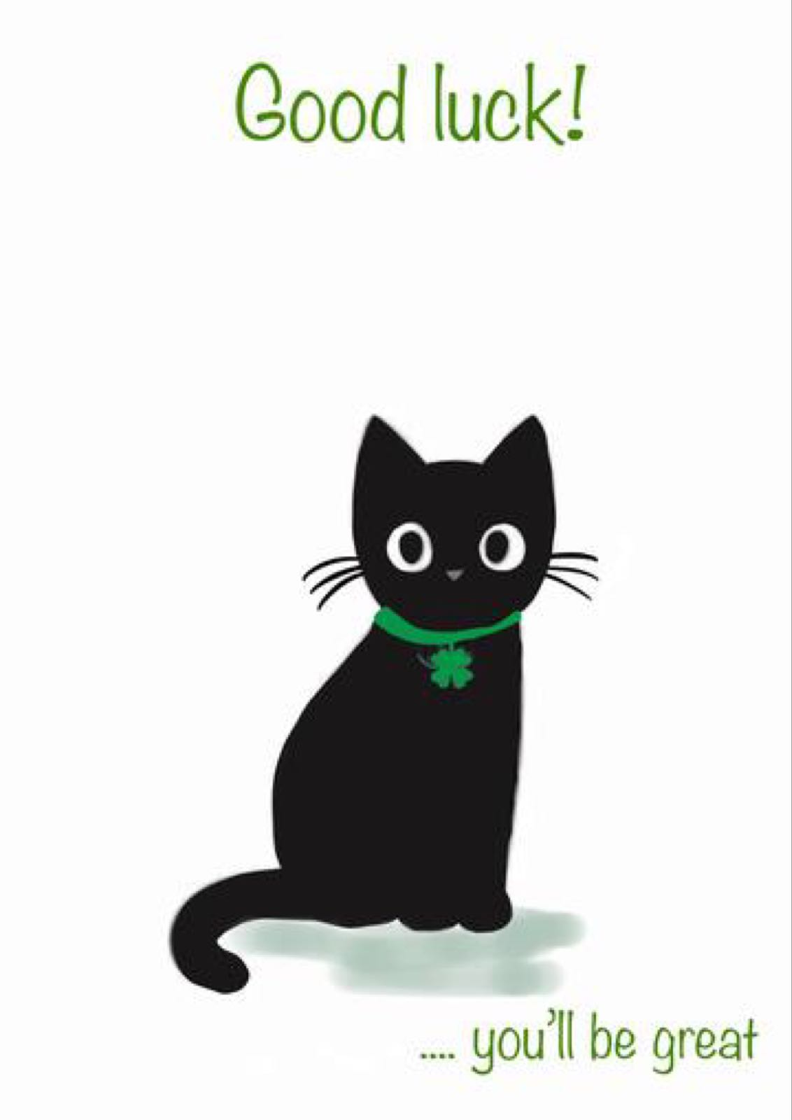 Good Luck Black Cat (FDE62)