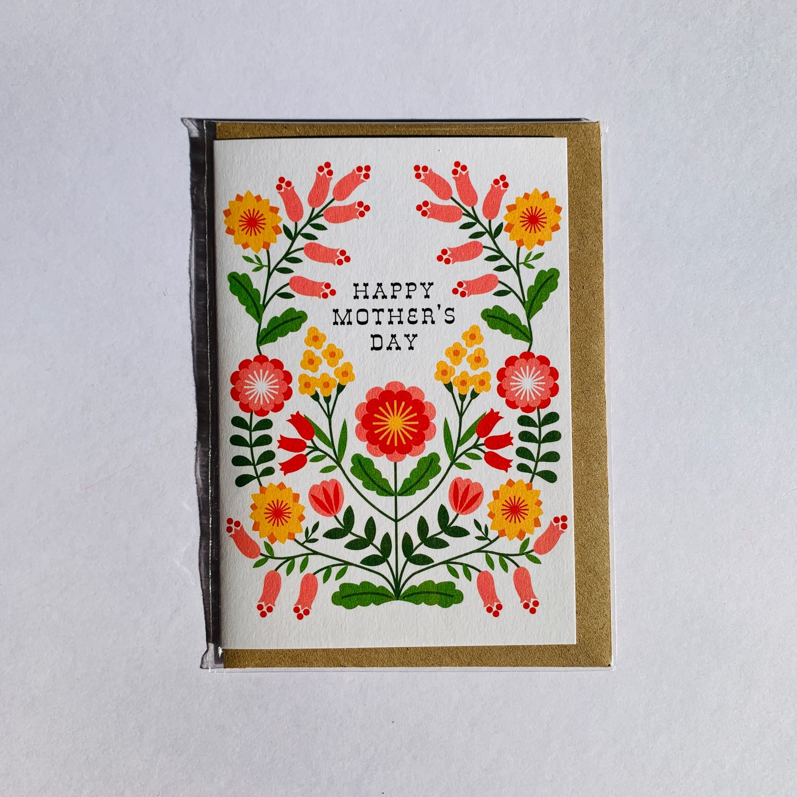 MaggieMagoo Designs - 'Bright Folk Floral' Mother's Day Card