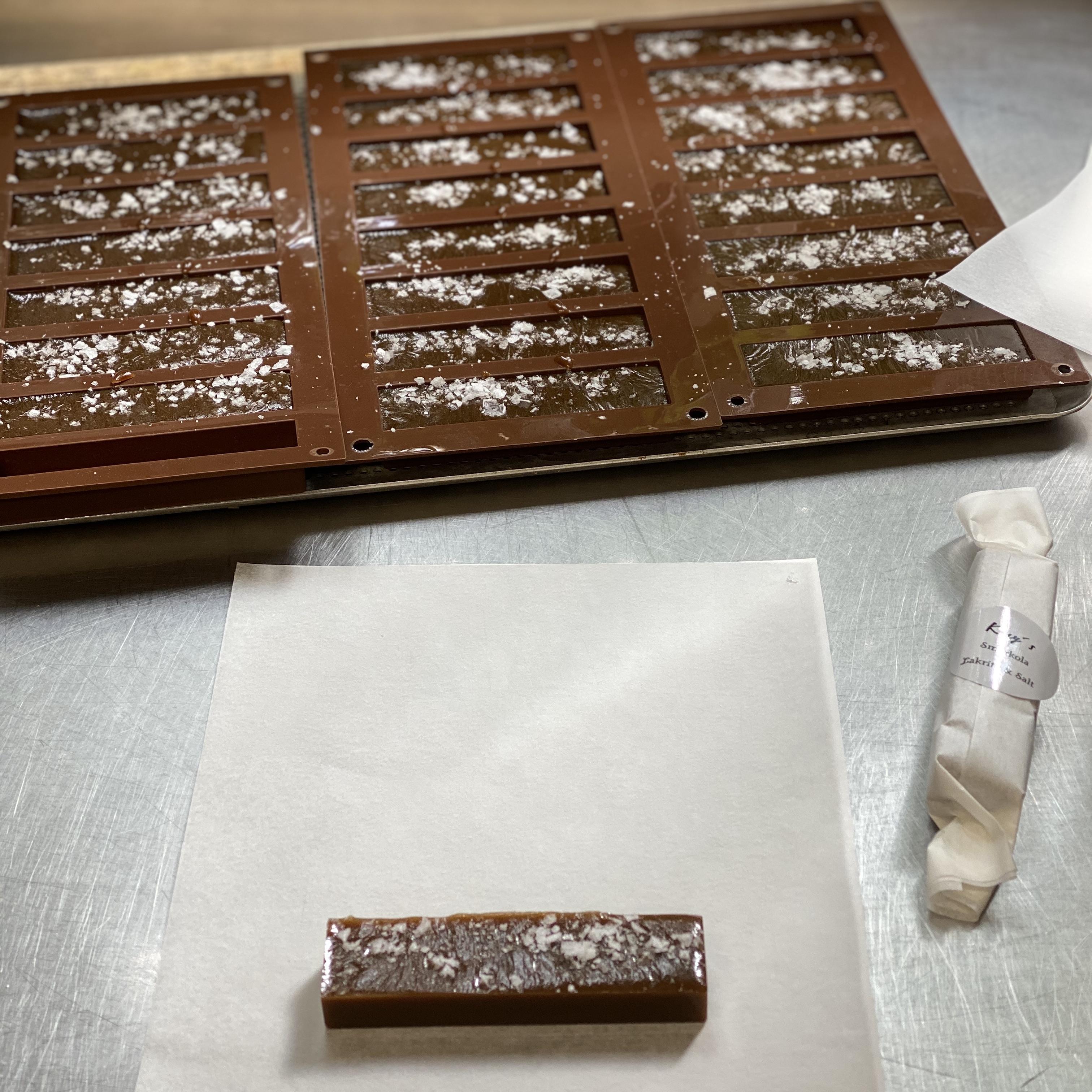 Smörkola med lakrits