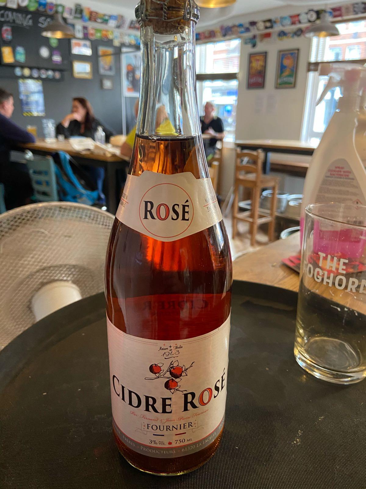 Fournier Cidre Rosé