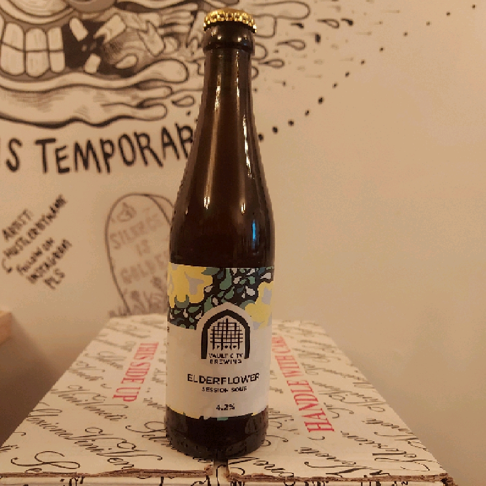 Vault City Brewing Elderflower Session Sour 4.2%