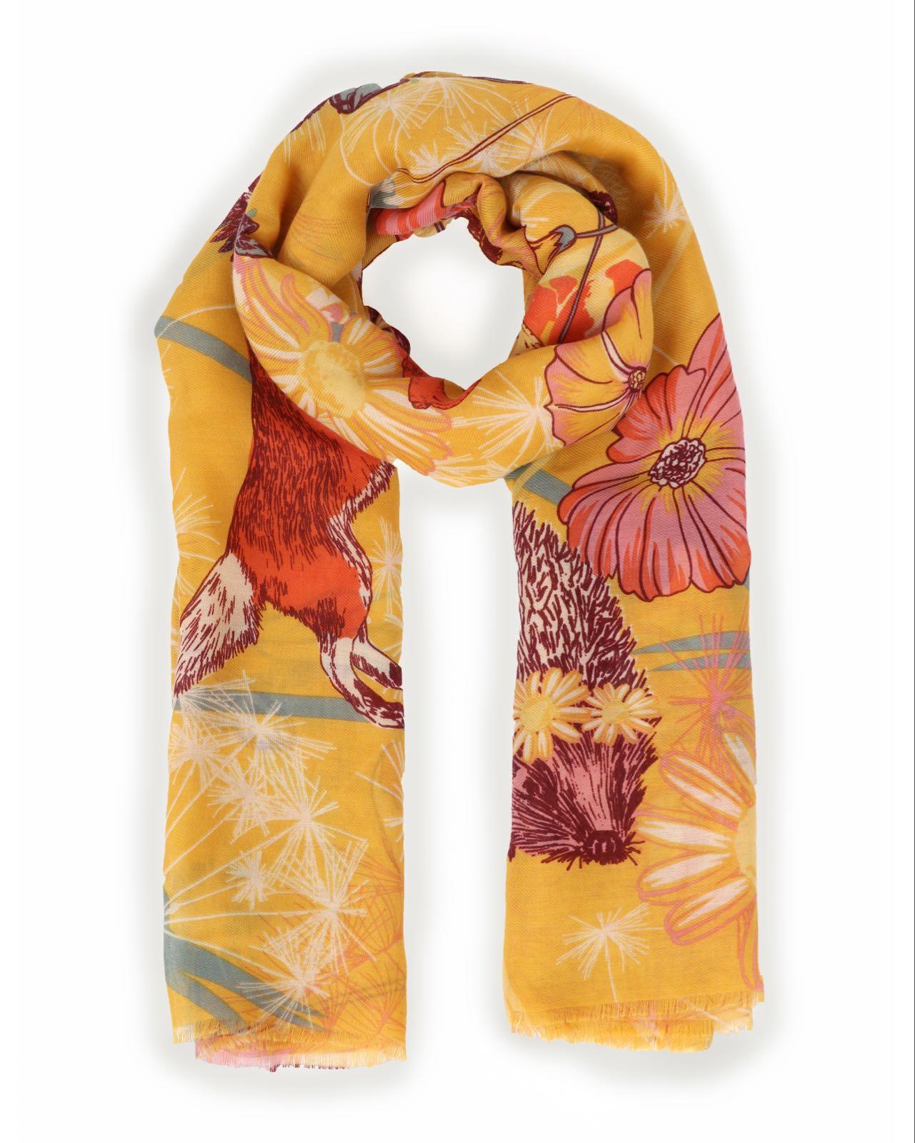 Powder Festival friends scarf