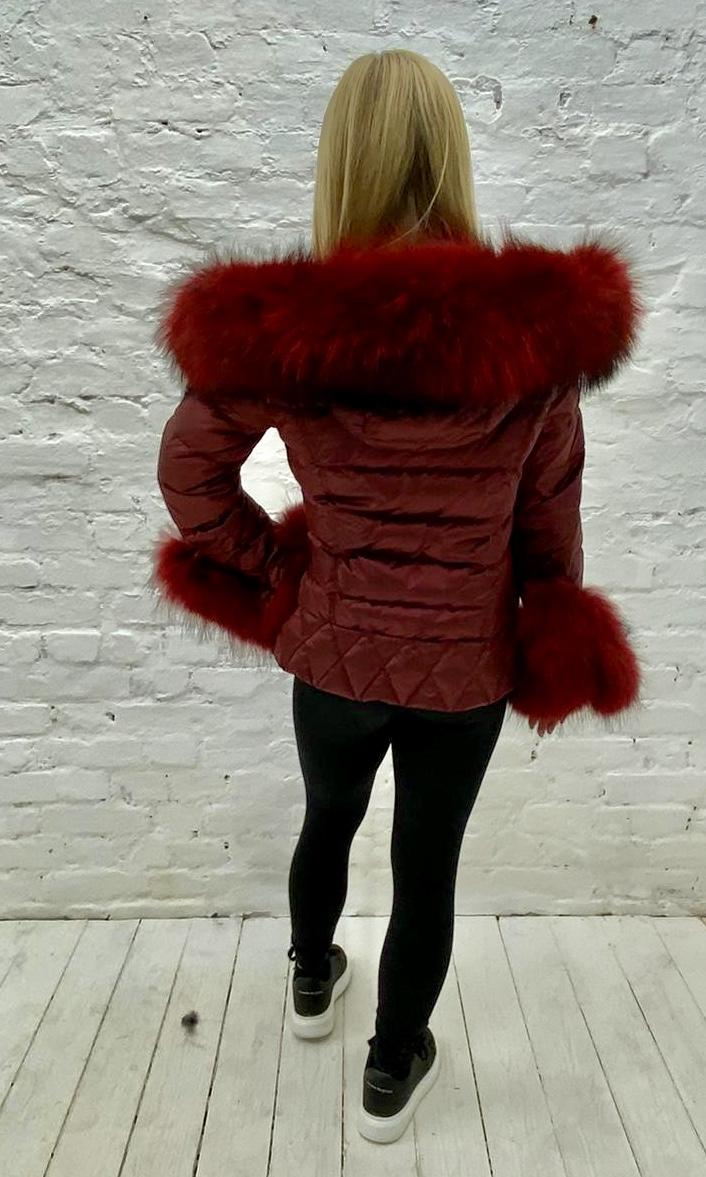 Laura Jane Paris Luxury Fox Fur Down Coat, R/R