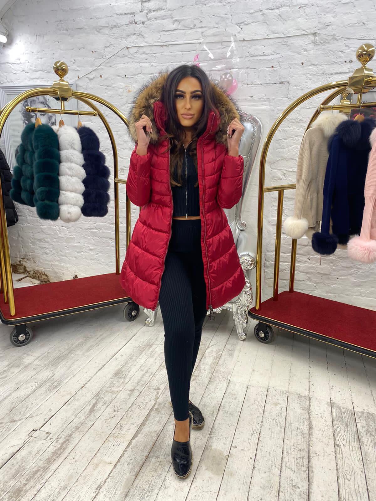 Laura Jane Paris 'Annecy' luxury coat