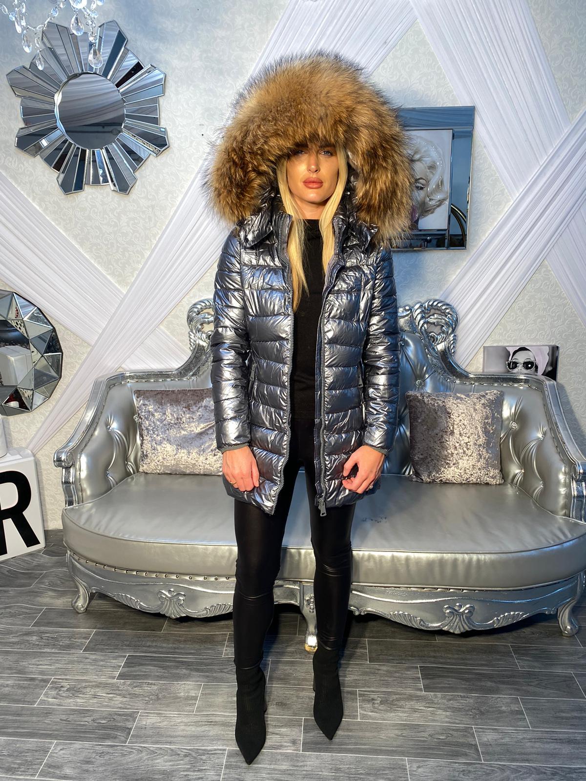 Laura Jane Paris 'Chamonix' metalic with natural