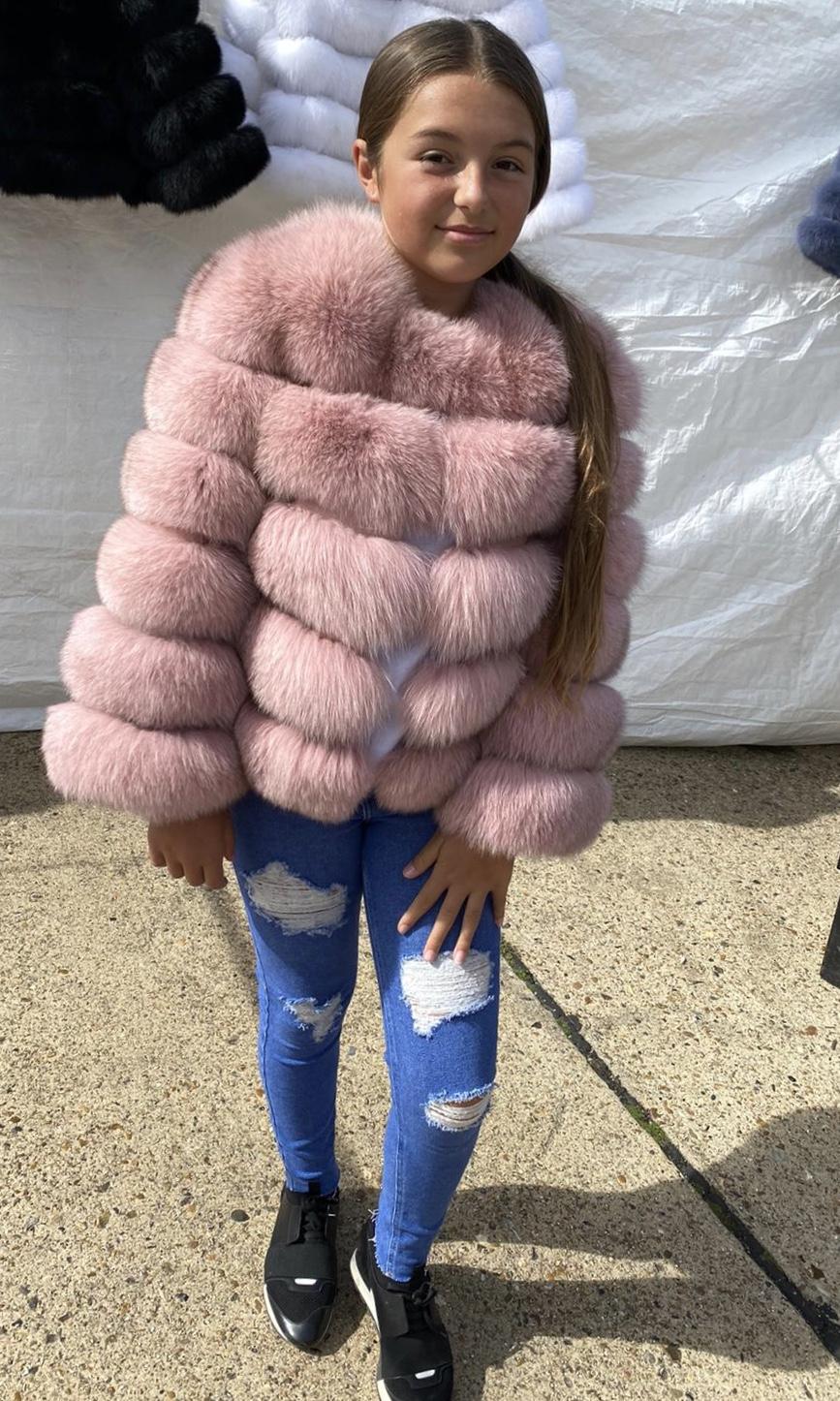 Children Laura Jane Paris Fur Coat