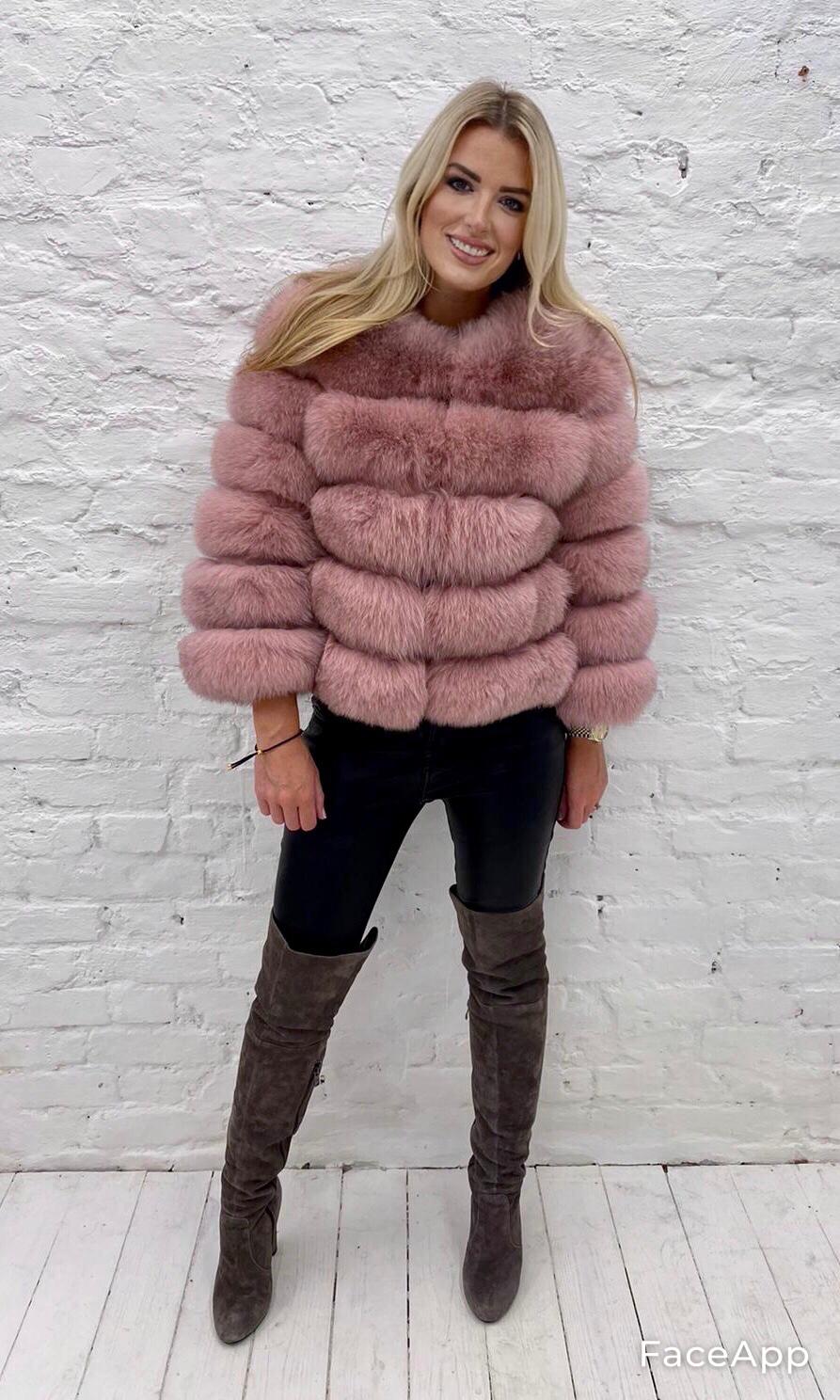 Laura Jane Paris Fox Coat Blush