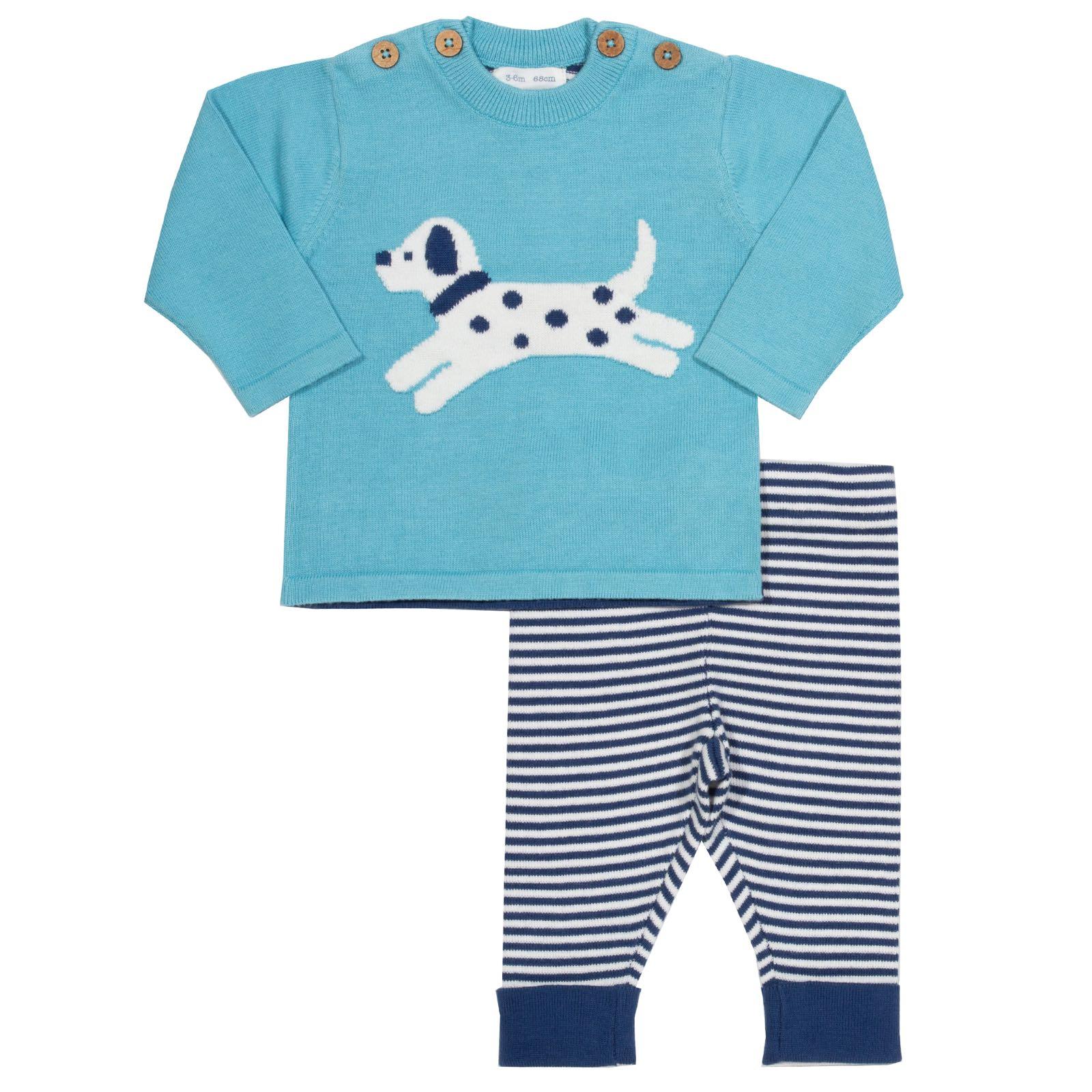 Kite Little Pup Knit Set