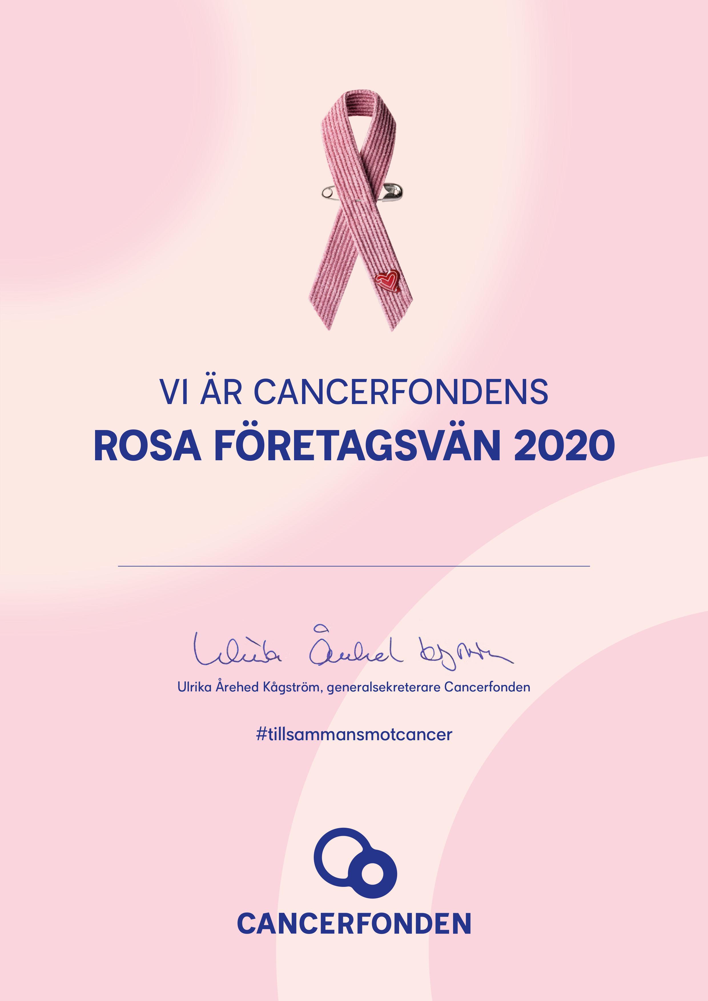 Rosa oktober 2020