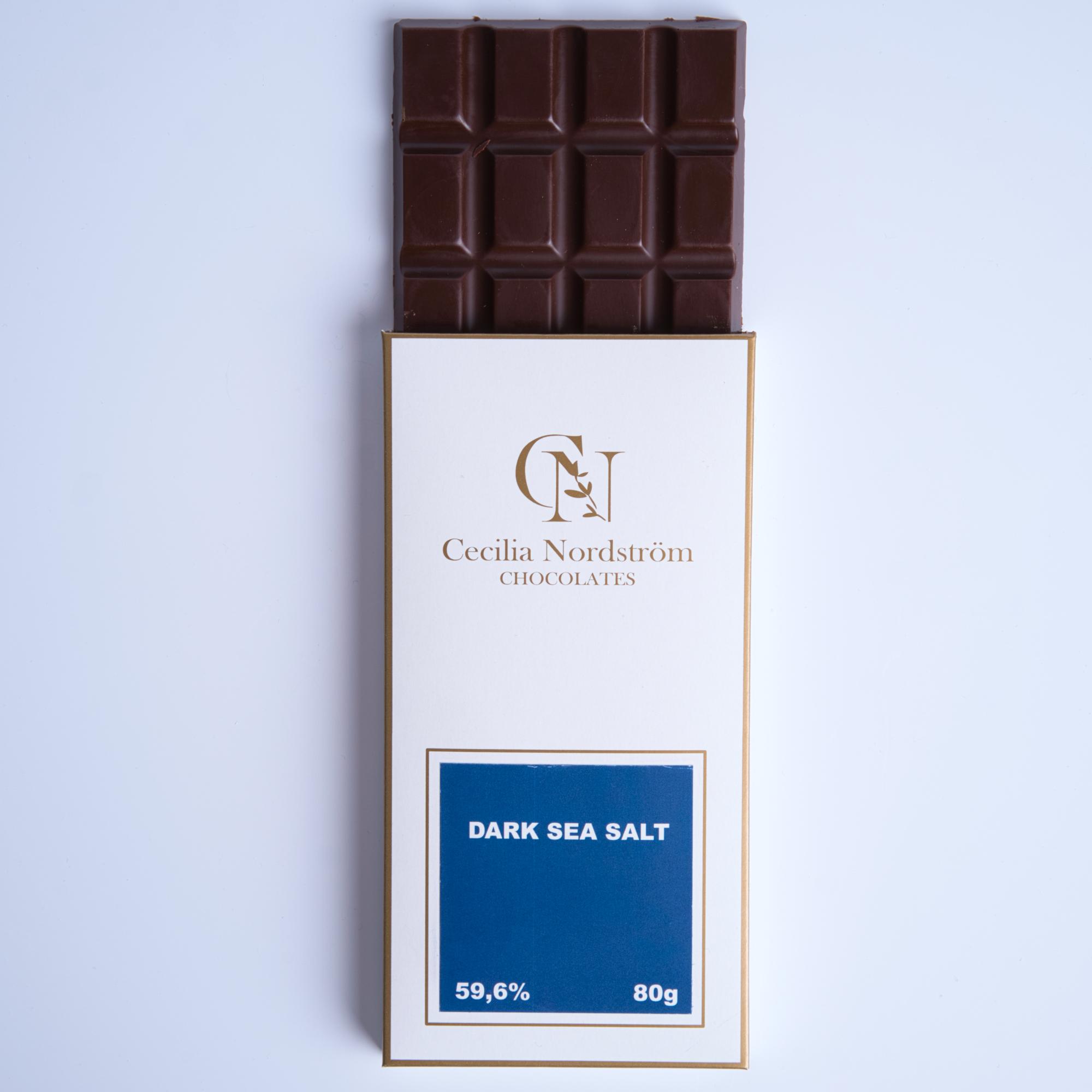 Havssalt, mörk choklad