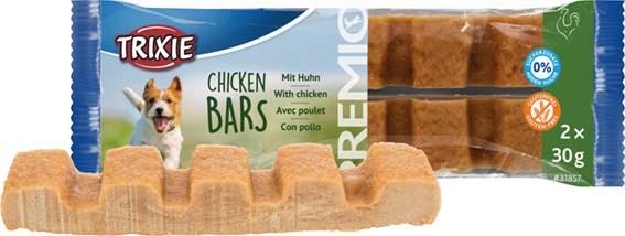 PREMIO Chicken Bars, 2 × 30 gram
