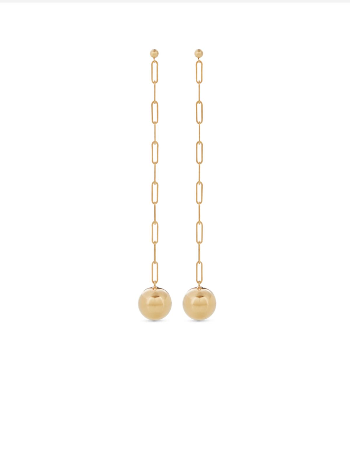 Ceres 24K Goldpleated eardrops