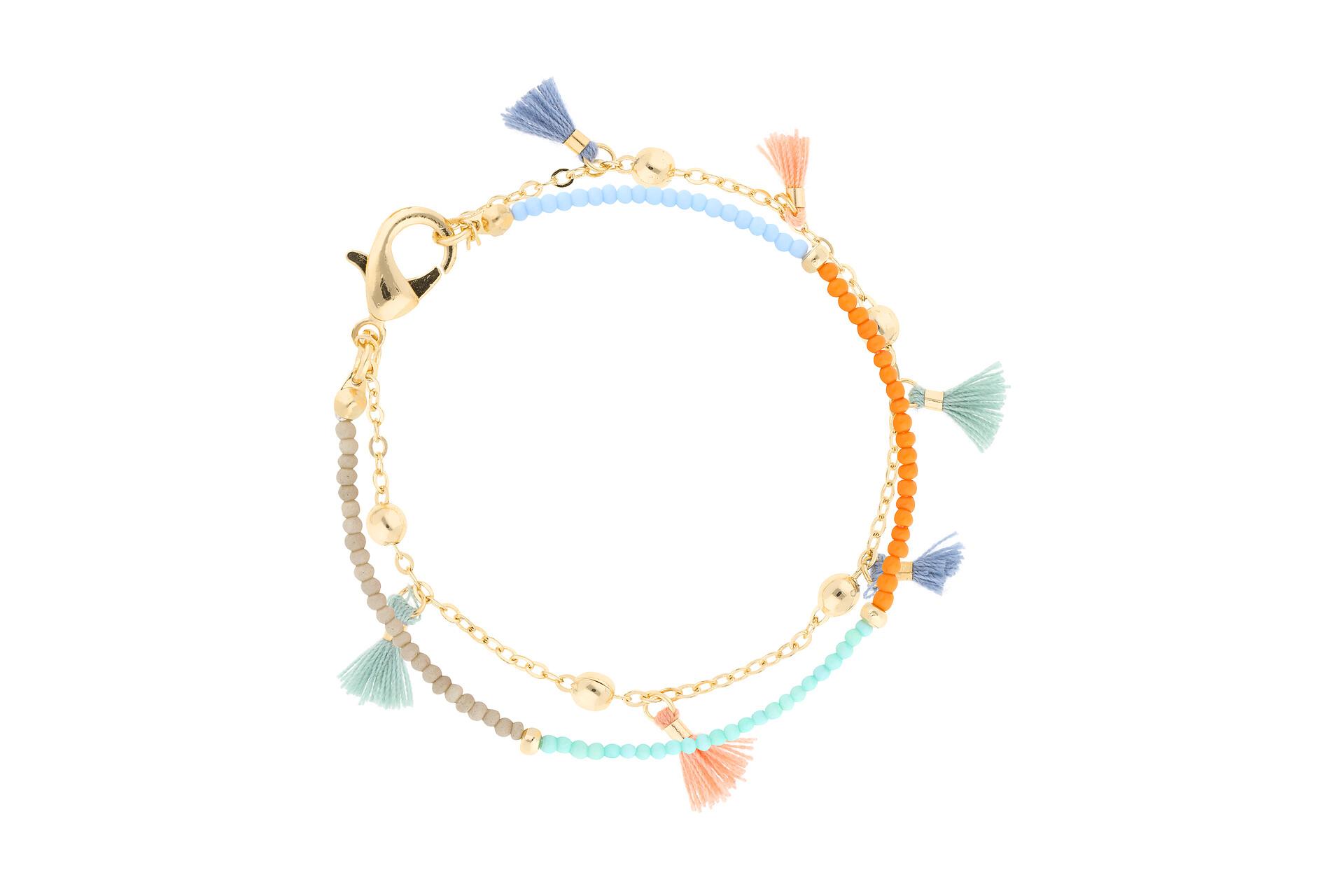 Armband mit  Mini-Tasseln