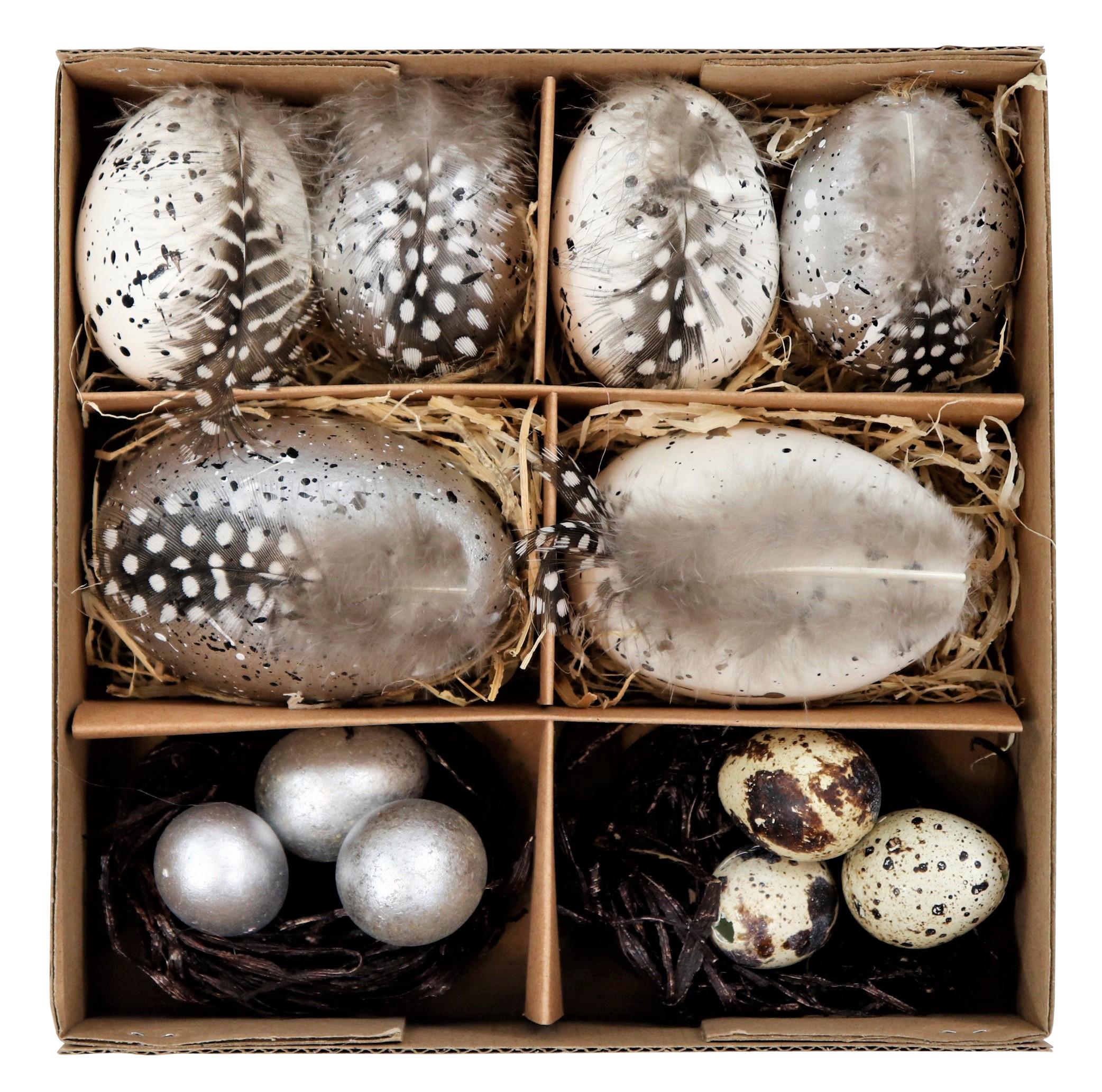 """Eierbox """"natural silver"""""""