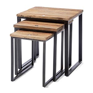 Shelter Island End Table, Dreier-Set