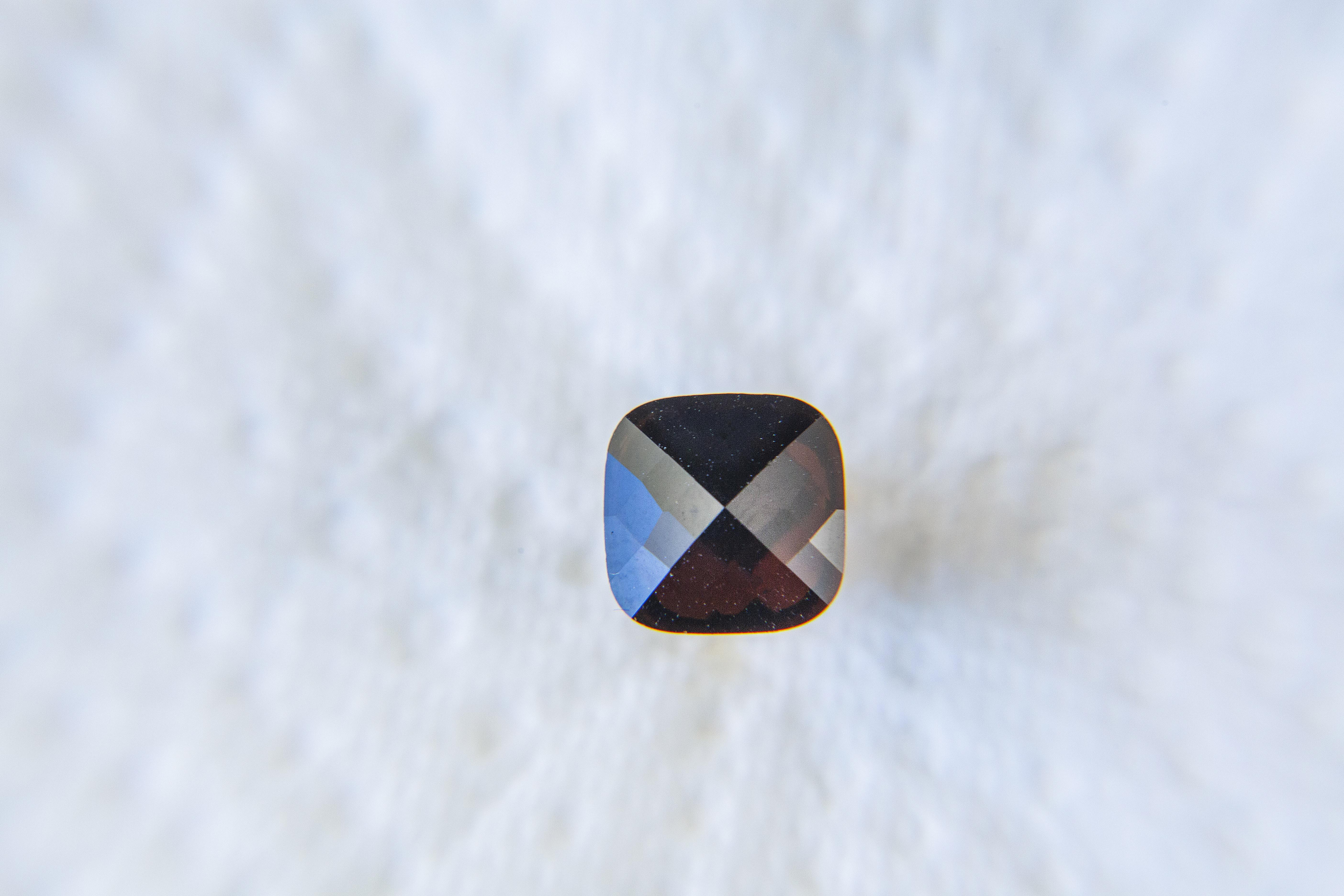 SteenStoneCollection - Kreolen mit buntem Stein, silberfarben