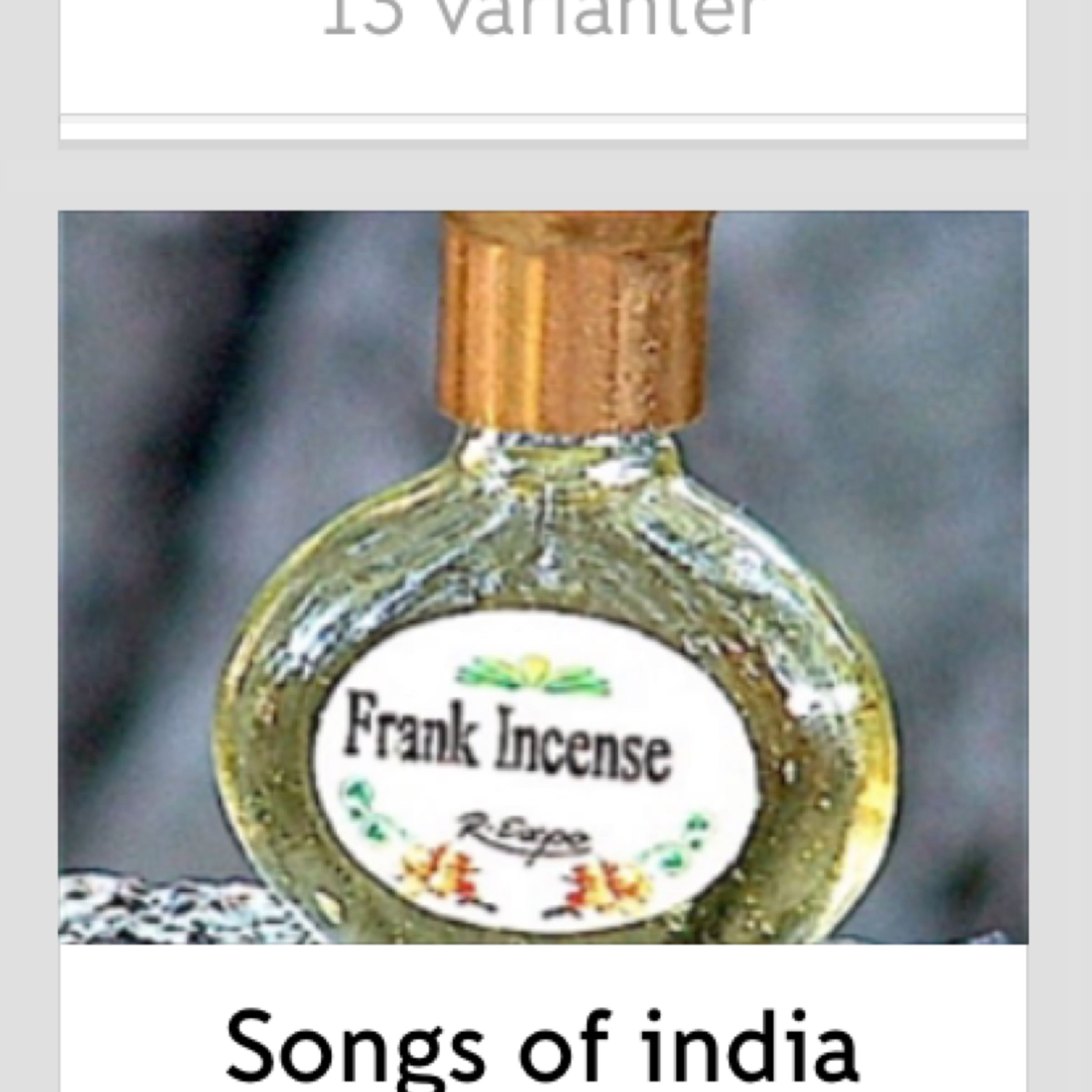 Parfym Song of India 59:-