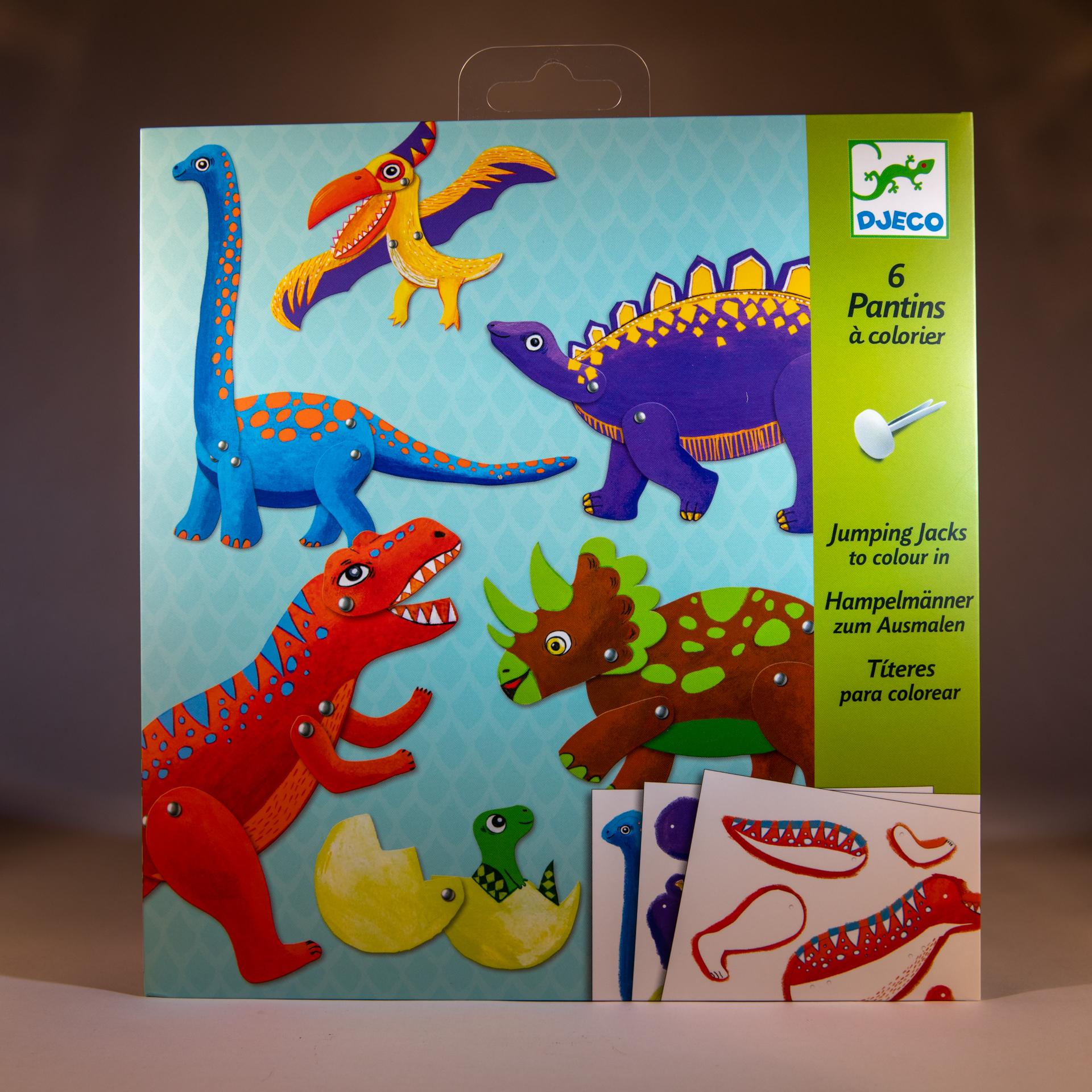 Jumping Jacks Dinosaurs