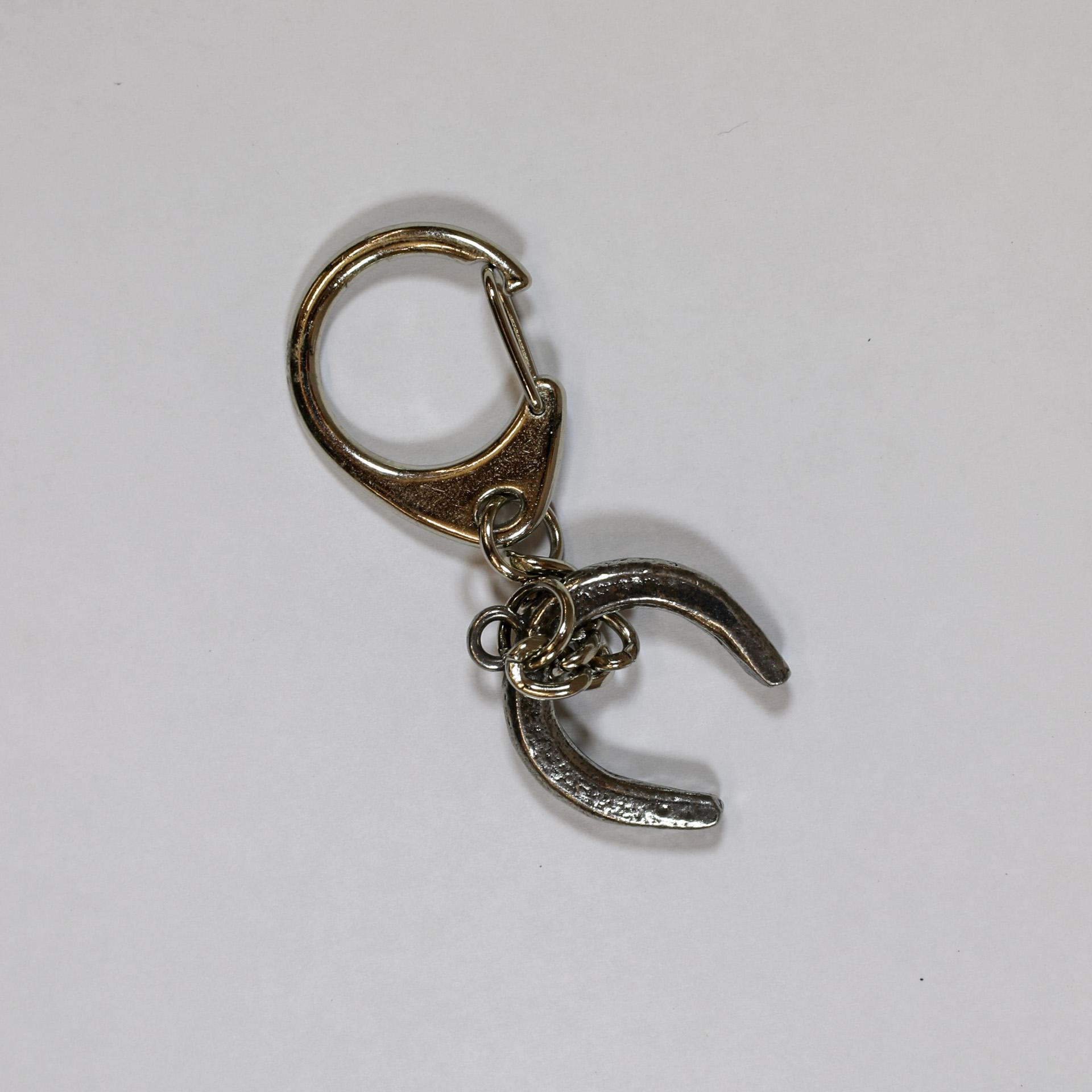 Horseshoe key ring