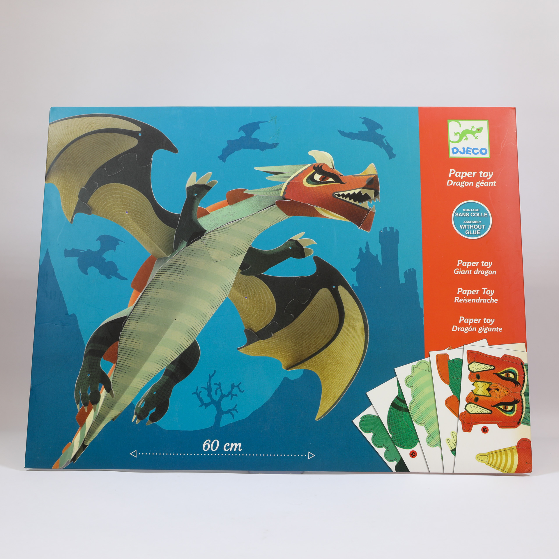 Giant Dragon Paper Toy