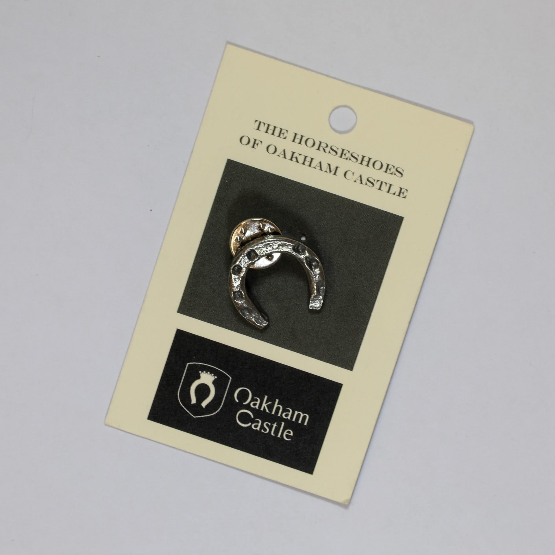 Oakham Castle Horseshoe Pin Badge