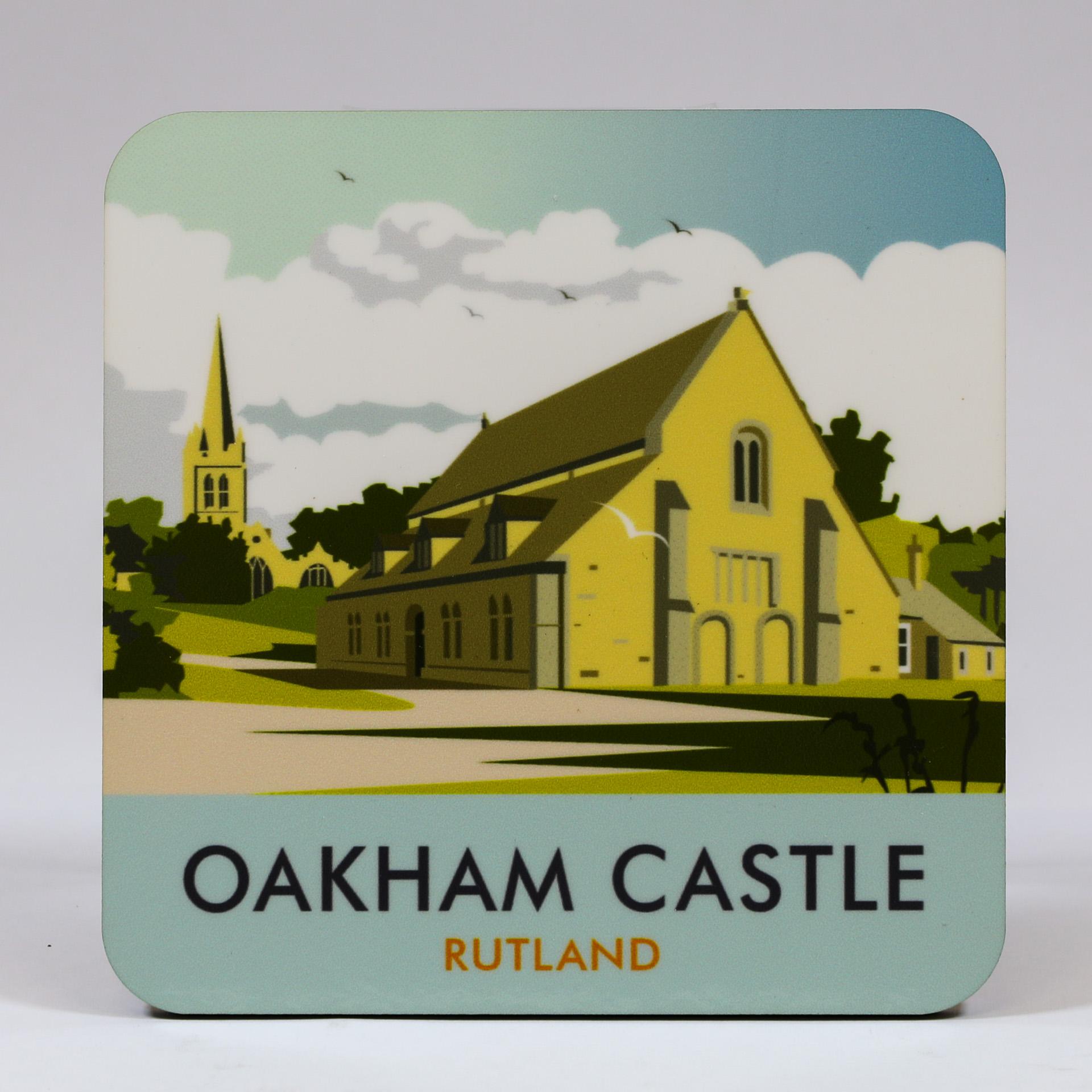 Oakham Castle Coaster