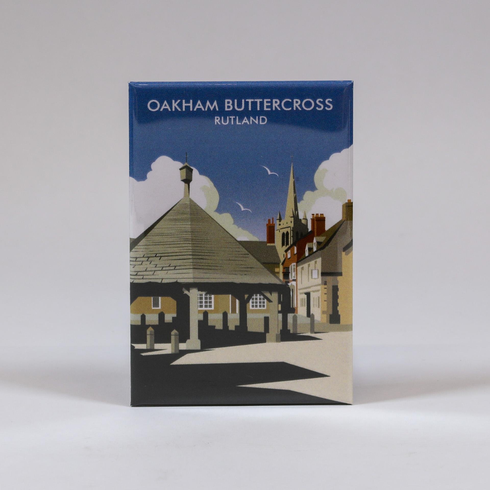 Oakham Buttercross Magnet
