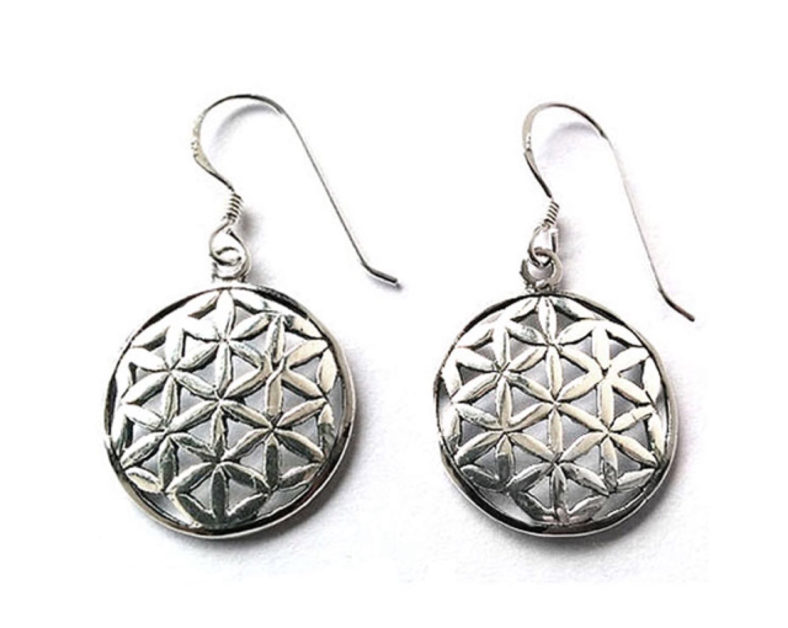 Flower of life silver