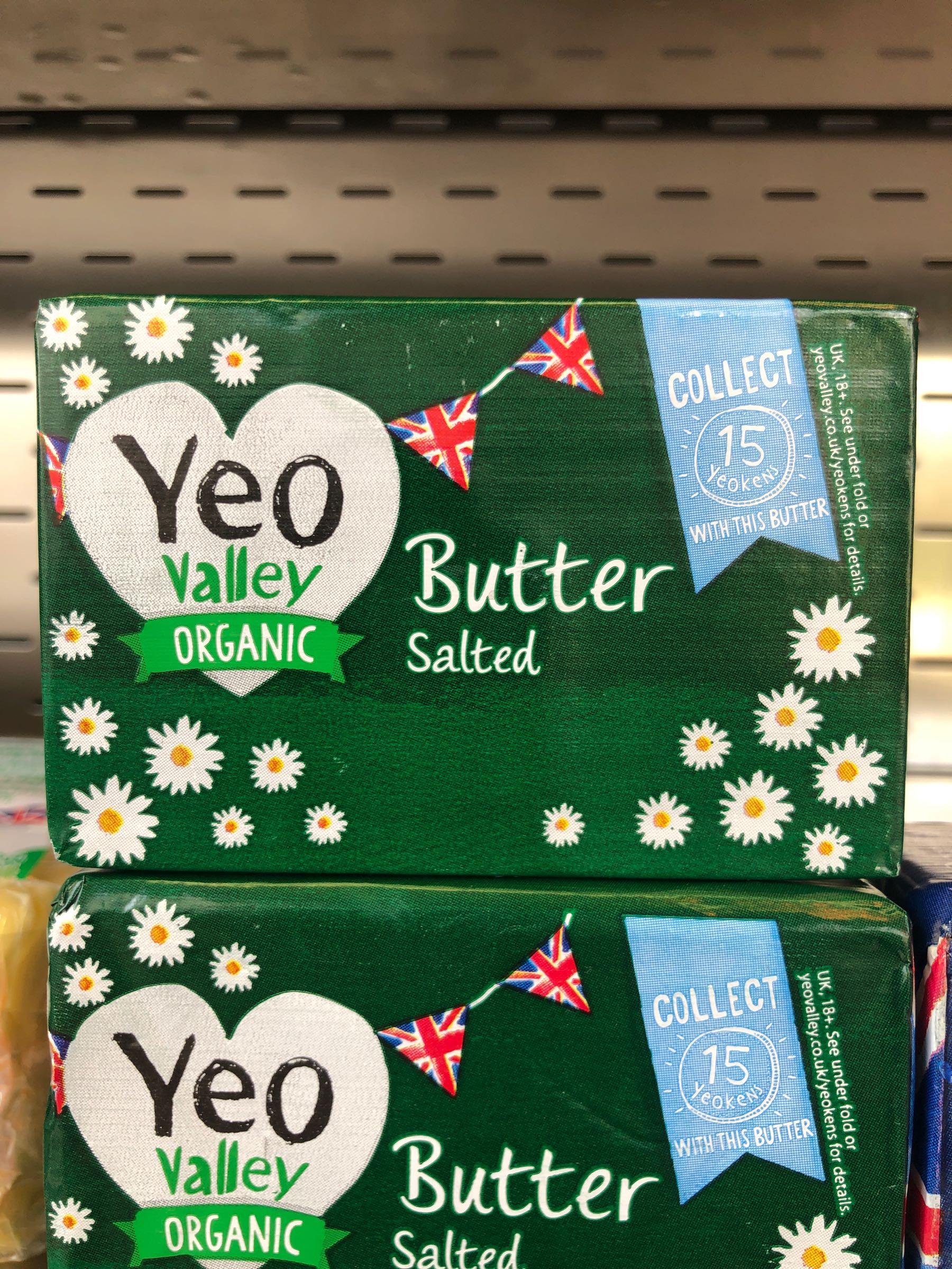 Yep Valley Organic Butter