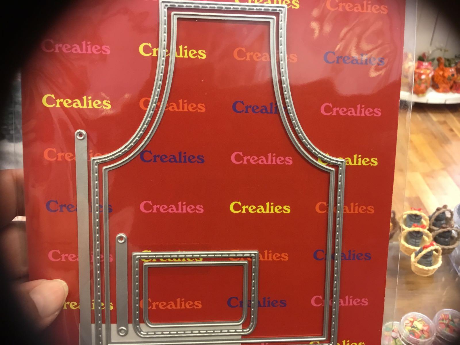 Crealies forkle CLCZ10 apron