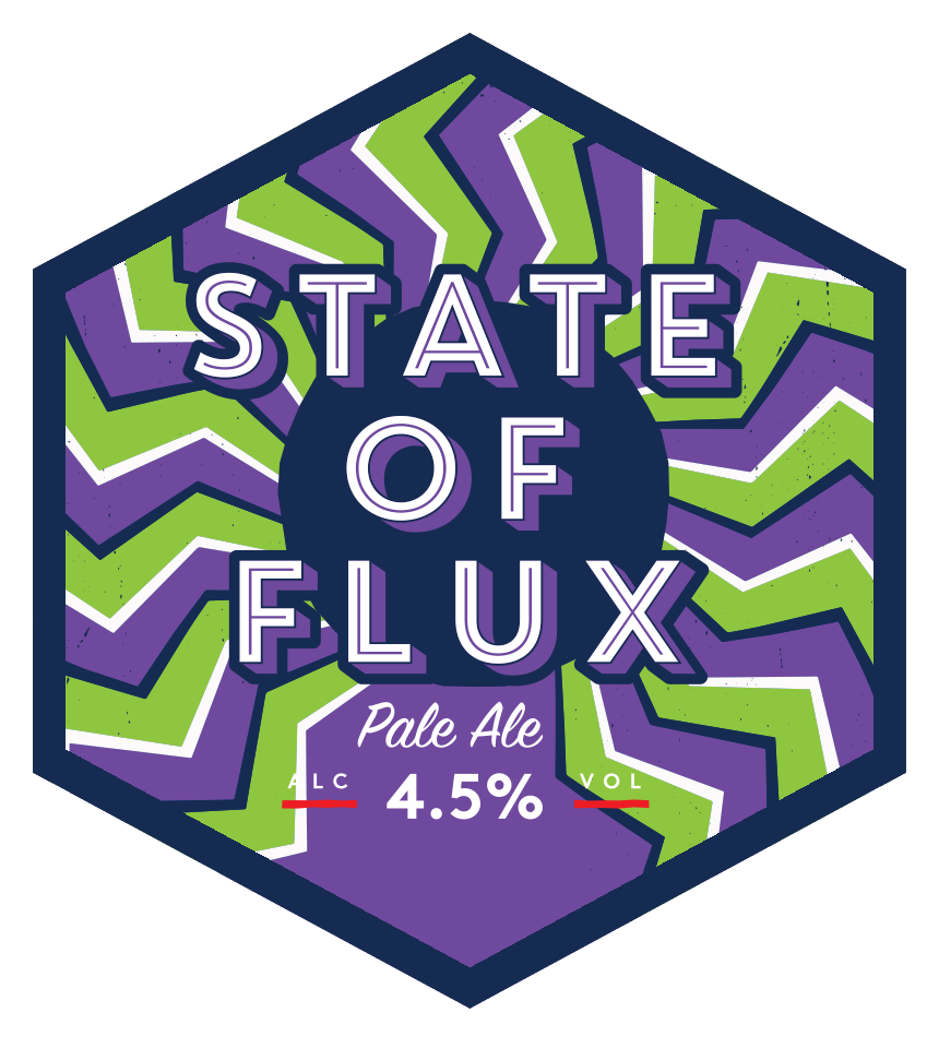 State of Flux Mini Keg