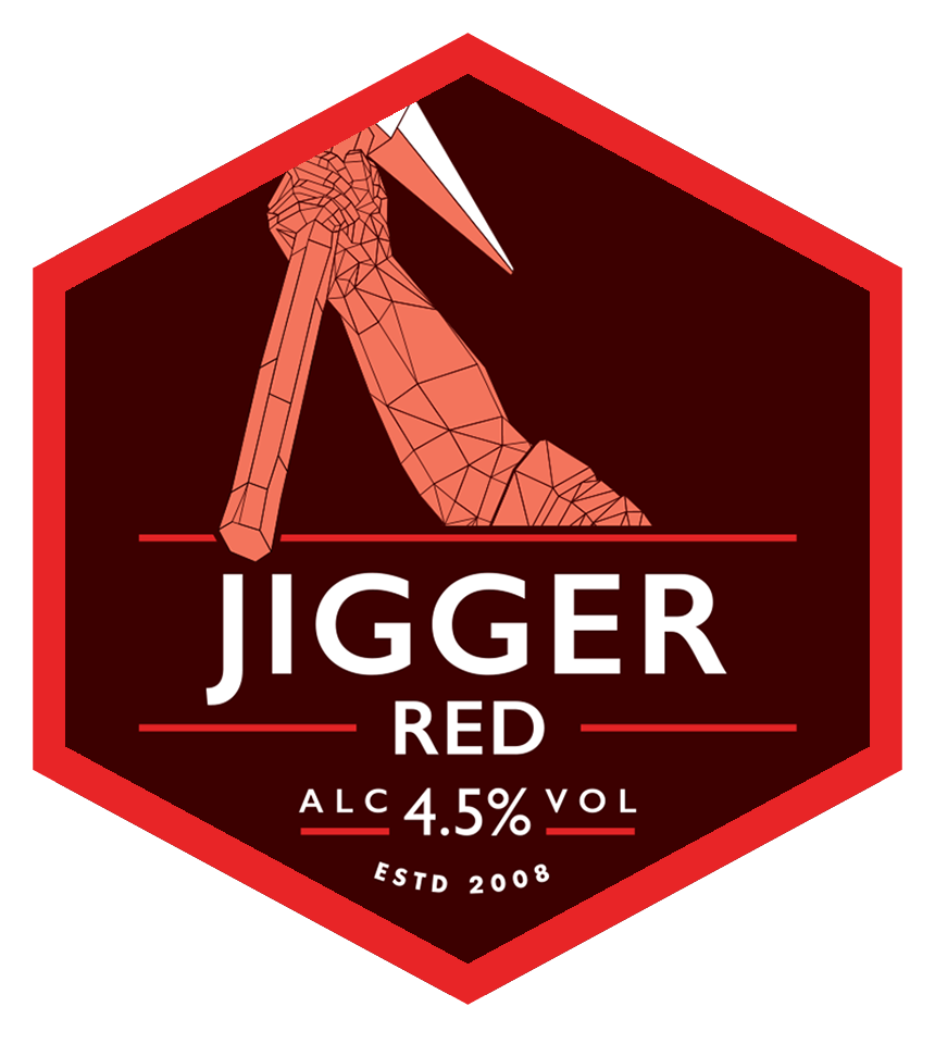 Jigger Red Mini Keg
