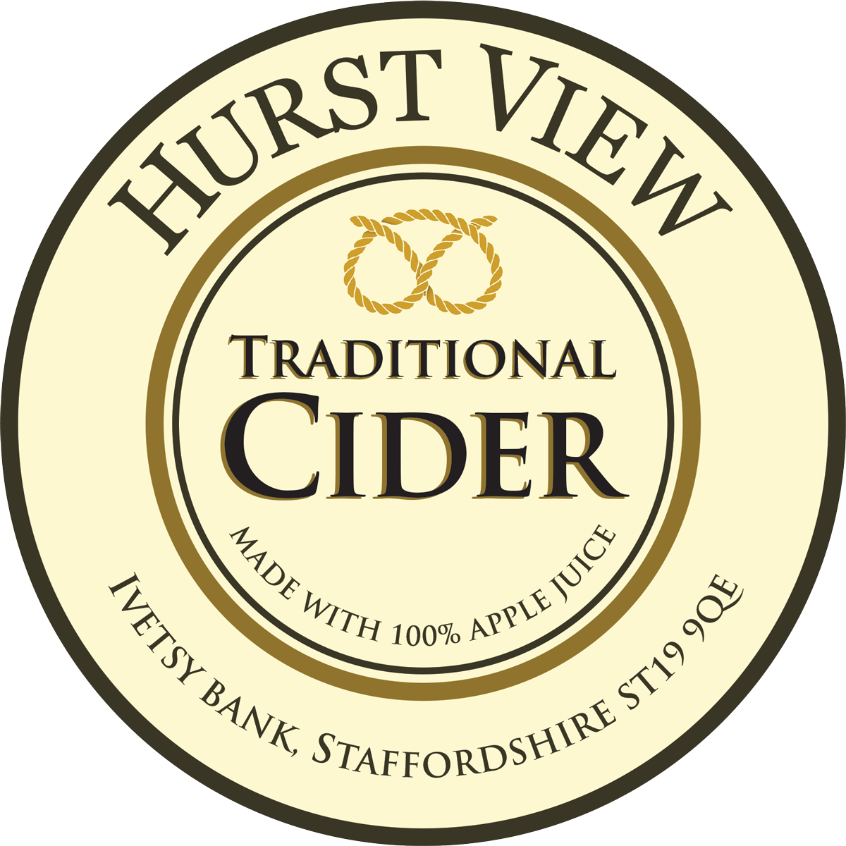 Hurst View Cider 5 Pint Pouch