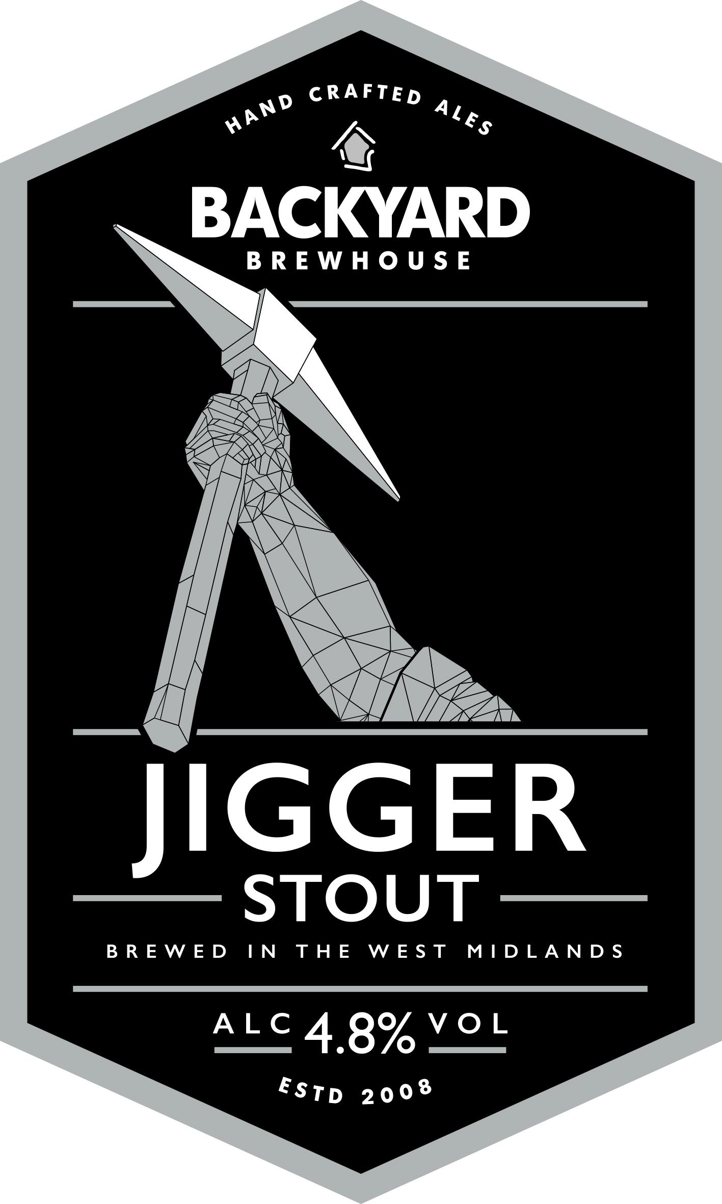 Jigger Stout Bottle 500ml