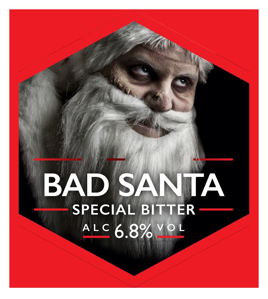 Bad Santa Bottle 500ml