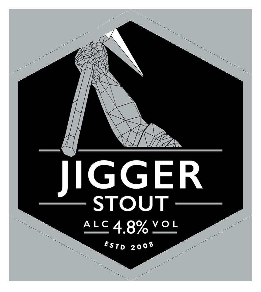 Jigger Stout Mini Keg