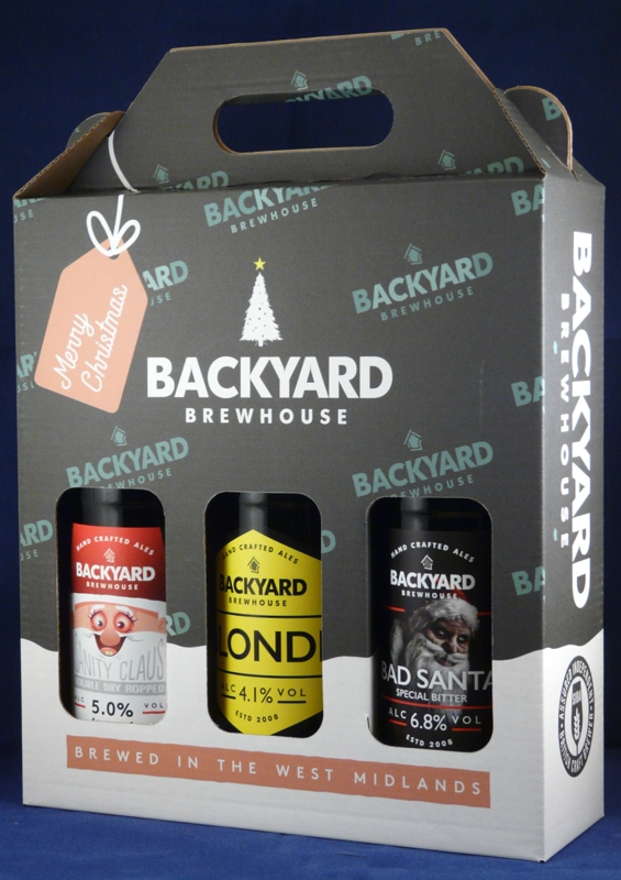 Christmas 3 Bottle Gift Box