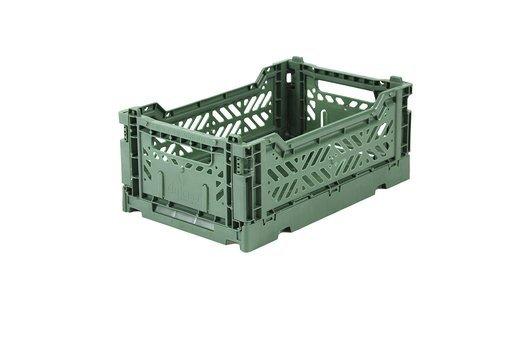 Aykasa plastbox mini 27x17 almond green